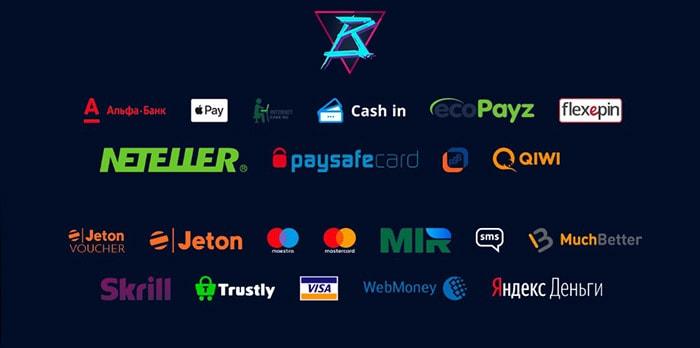 Платежные системы Mr Bit Casino казино