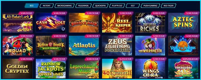 Игровые автоматы с джекпотом Mr Bit Casino