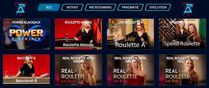 Игры с живым дилером на сайте Mr Bit casino